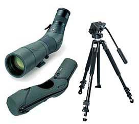 Sammensatte sett og pakker med teleskop, okularer osv.