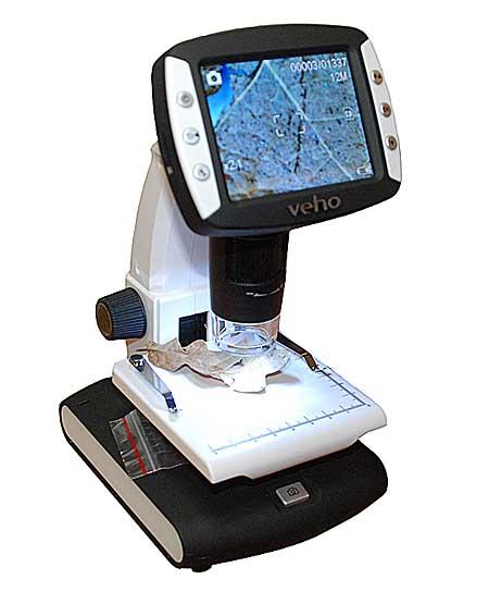 Veho VMS-005 LCD portabelt Mikroskop