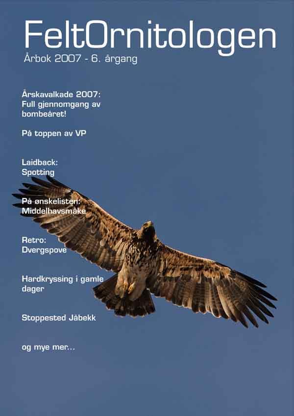 Forside Feltornitologen 2007