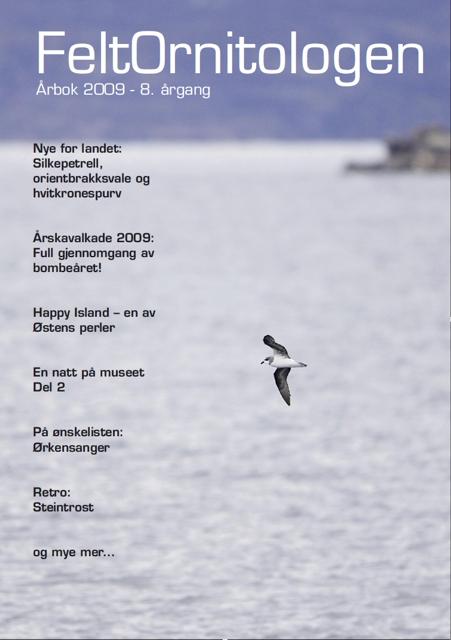 Forside Feltornitologen 2009
