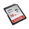 Sandisk Minnekort SDHC Ultra 16GB 80MB/s UHS-I Class10