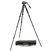 Manfrotto Stativkit Video MVK502AQ MVH502AH