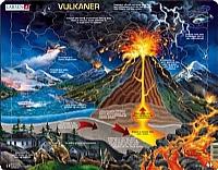 Puslespill - Vulkaner
