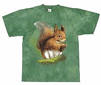 T-Skjorte Ekorn str. barn 10 år  (140)