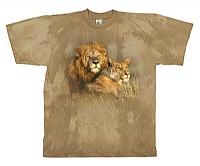 T-Skjorte Løver - Sunset - str. L