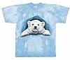 T-Skjorte Isbjørnunge str. barn 8 år (128)