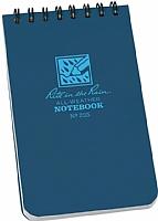 Allvær spiralblokk - Plastcover (235) Blå