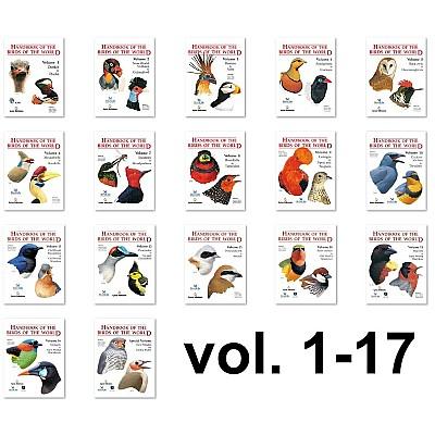 Handbook of the Birds of the World, vol. 1.